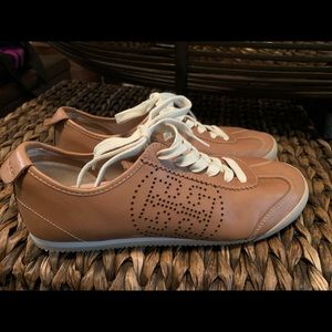 Tory Burch perforated leather sneakers 9M